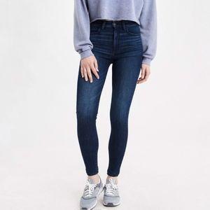 AE SHORT High-Rise 360 Super Stretch Dark Jeans
